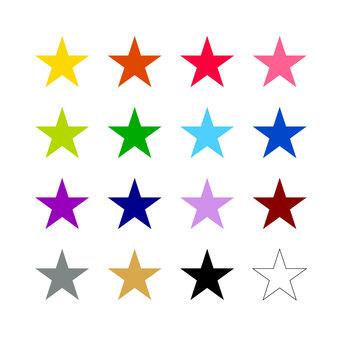 Assortment of stars