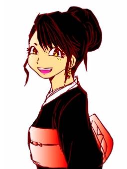 Kimono female 5