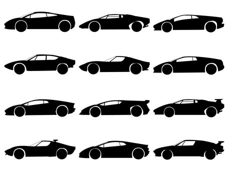Silhouette Lamborghini