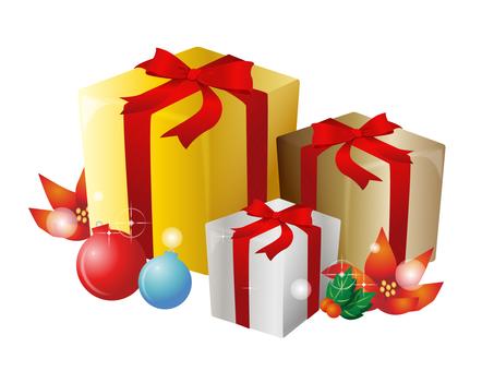 Sparkling present box