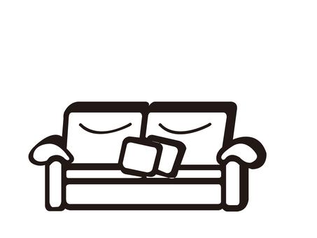 Silhouette _ sofa