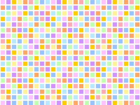 Pastel colorful mosaic tile pattern