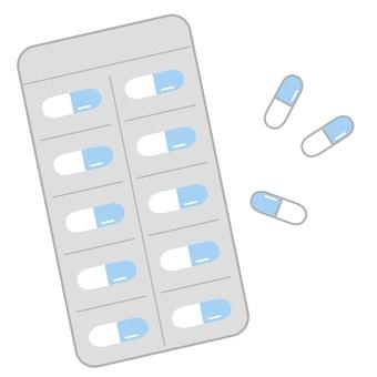 飲み薬(水色)