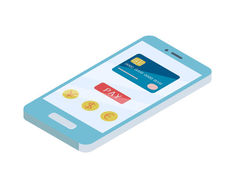 Cashless payment smartphone