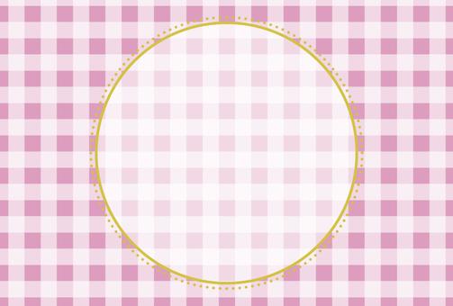 가리 프레임 (핑크 2)