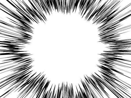 Comic style 05 white through PNG