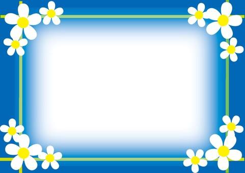 Small flower retro material