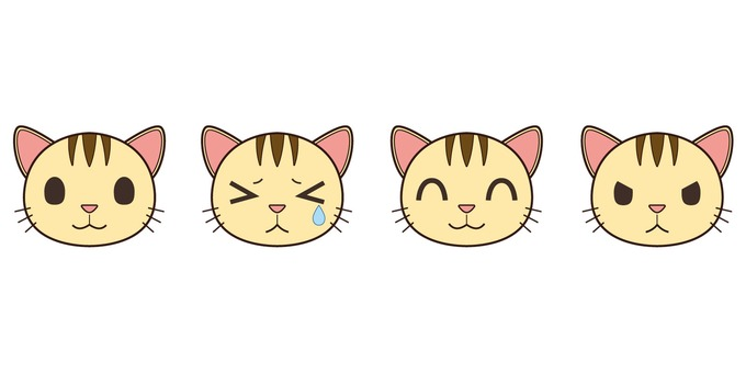 Face icon (cat)