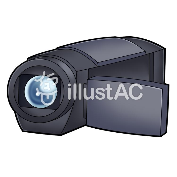 ビデオ カメラ イラスト