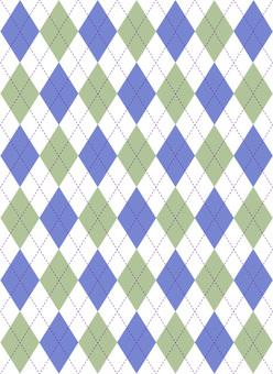 Argyle pattern winter