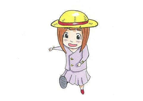 Elementary school student (girl)