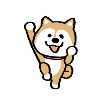 秋田犬シルエット イラストの無料ダウンロードサイトシルエットac