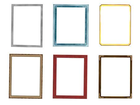 Vertical frame