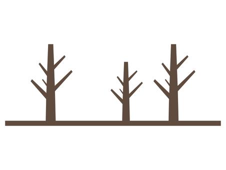 Dead tree path
