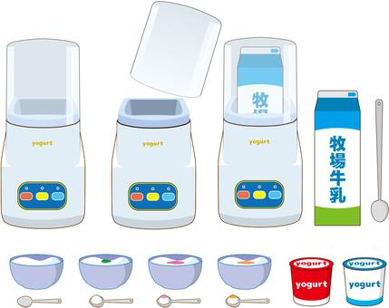 Yogurt manufacturing machine Summary