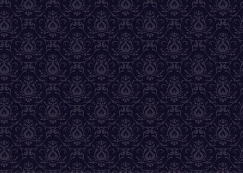Western style wallpaper _ 3 _ blue