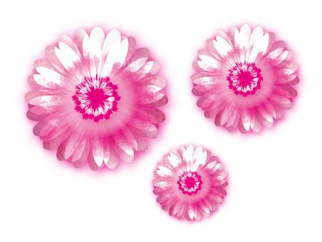 Watercolor-like flower 2