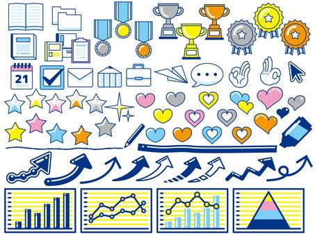 Graph · Icon Set