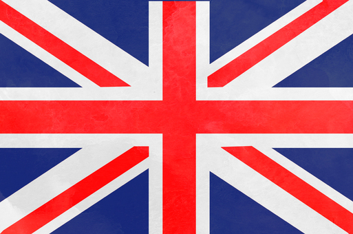 Flag watercolor UK
