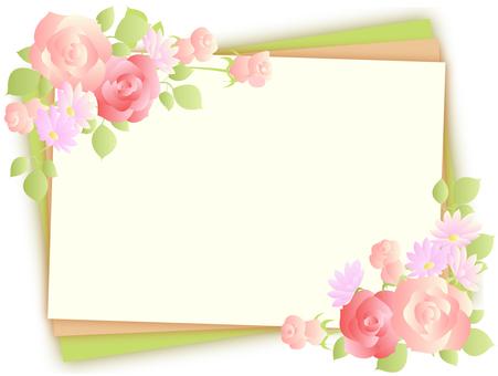 Flower frame 12