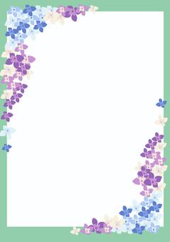 Hydrangea's stationery 2 ~ hydrangea ~