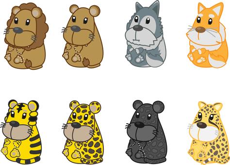 Zoo animals set 3