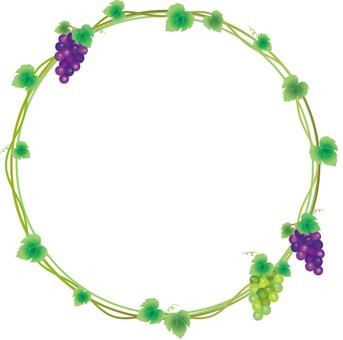 Grape frame circle