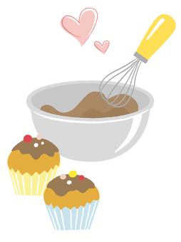 컵 케이크 만들기