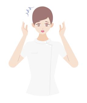 Receiving a female shock