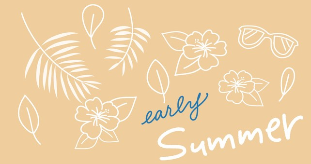 Summer plant set