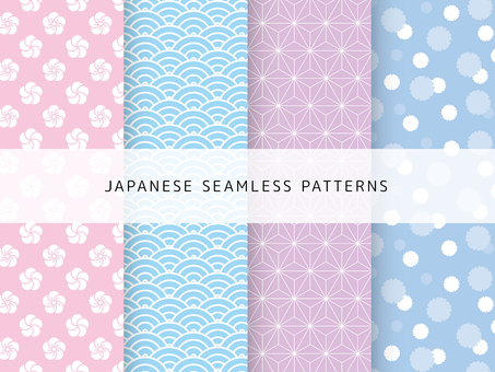 Cute Japanese Pattern Set-6