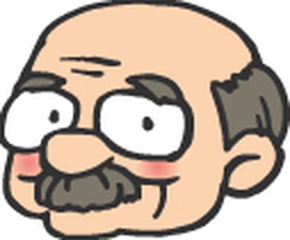 할아버지 / 얼굴