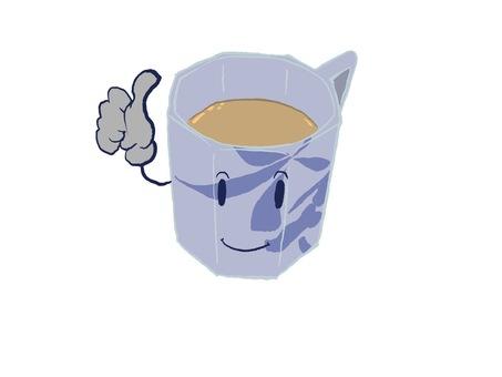 Tea time (cafe latte milk tea)