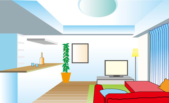 Apartment illustration