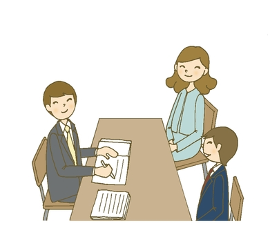 Triple Interview 1 (male, boys student, mother)
