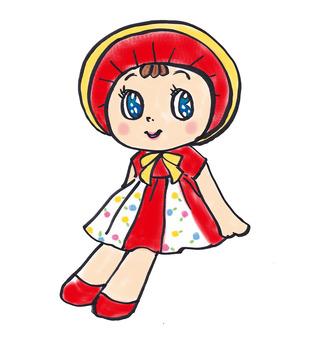 Nostalgic doll