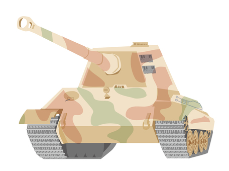 Tank Camouflage Paint King Tiger