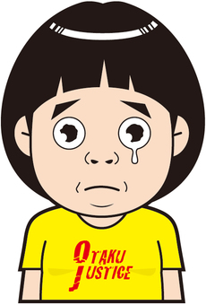 Otaku boys (crying)