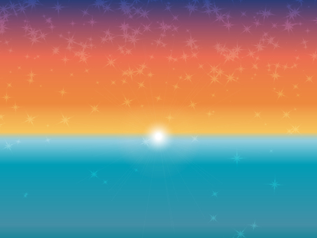 Sunset sunset sea