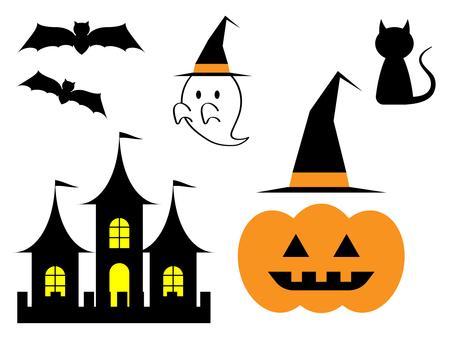 Halloween material various set