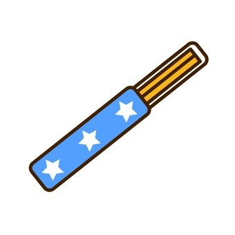 Disposable chopsticks (blue)