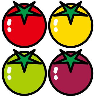 방울 토마토 <4 색>