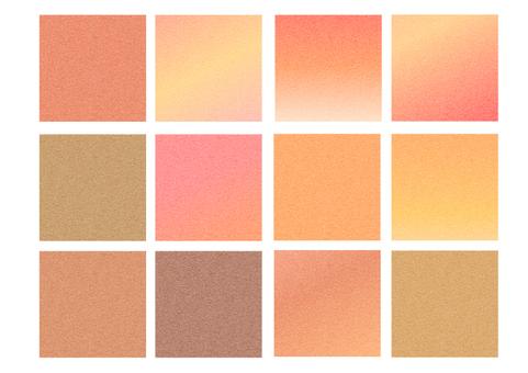 An autumn color texture assortment