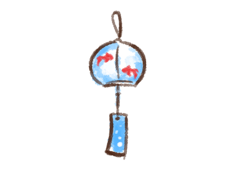 Crayon series [wind bell]