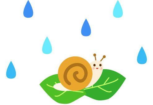 달팽이 소재