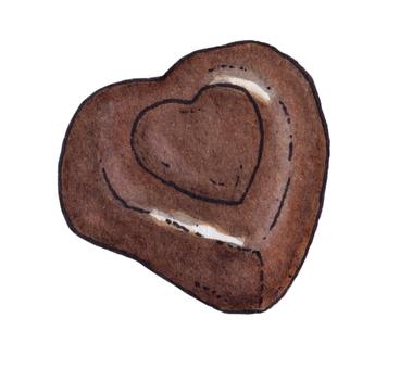Bitter Chocolate Heart 2