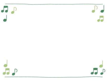 Handwritten wind frame on