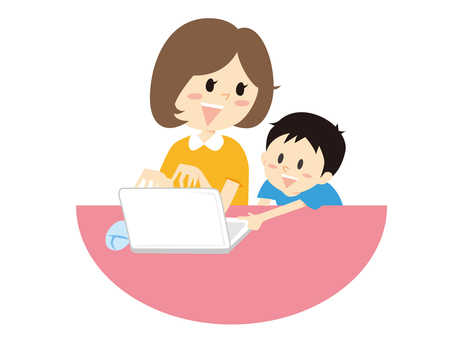 Personal computer parent and child