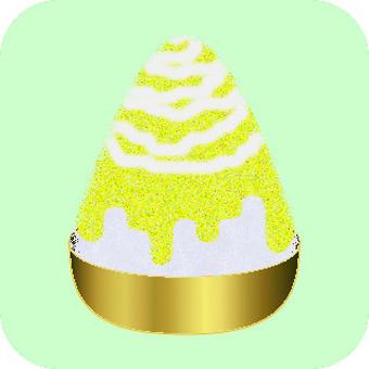 Shaved ice (lemon)