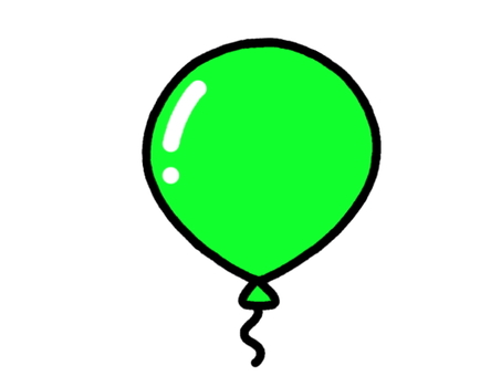 Balloon green
